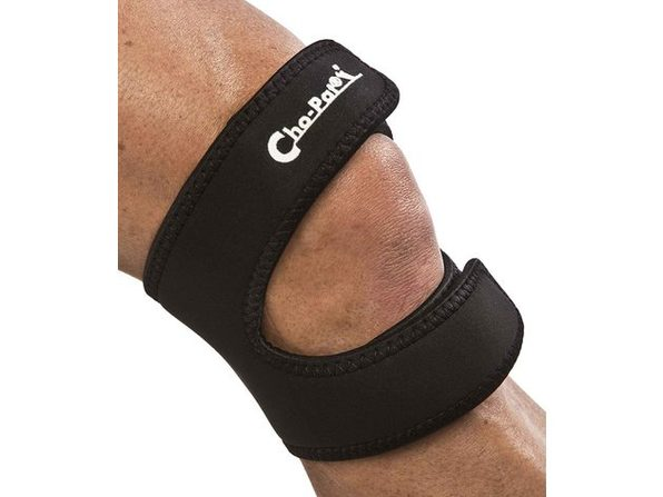 "Cho-Pat Dual Action Knee Strap, Provides Full Mobility and Pain Relief for Weakened Knees XX-Large: 20""-22"", Black"