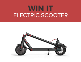 Giveaway electricscooter ad unit