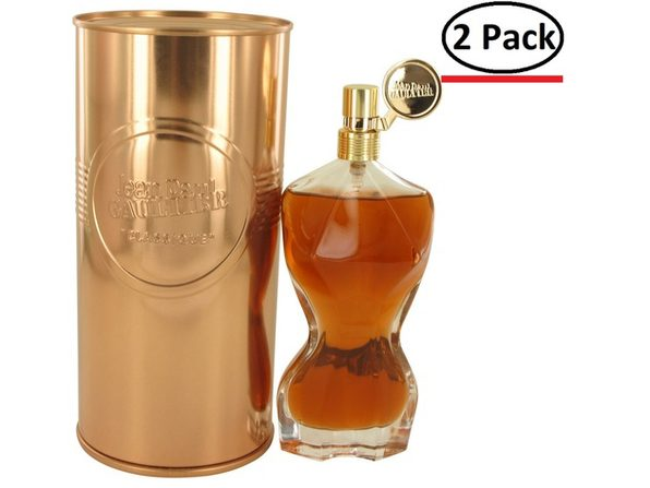 Jean Paul Gaultier Essence De Parfum by Jean Paul Gaultier Eau De Parfum Intense Spray 3.4 oz for Women (Package of 2)