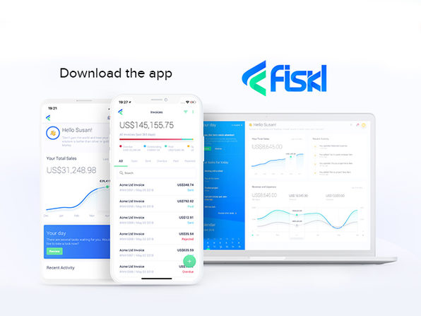 Fiskl Plus Financial Management App: Lifetime Subscription