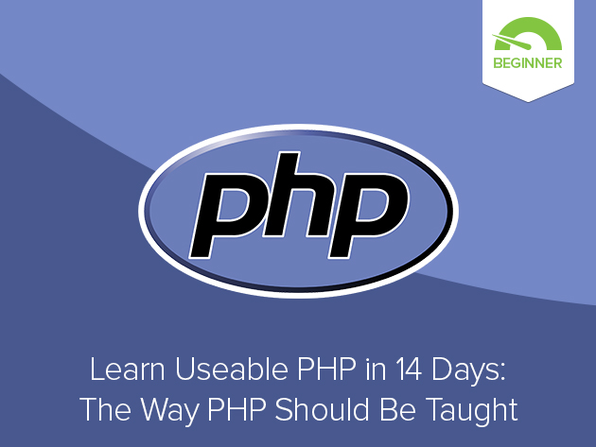 Learn Useable PHP in 14 Days Course - Product Image