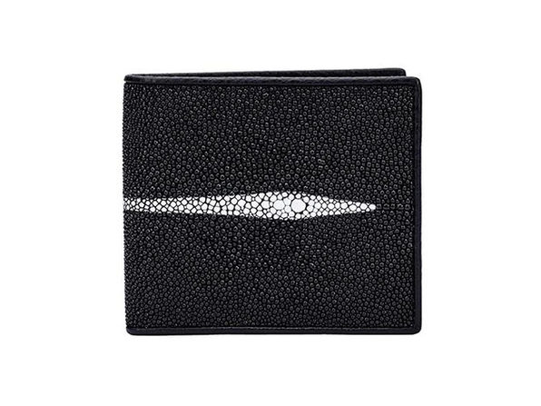 Andre Giroud exotic stingray wallet - black - Product Image