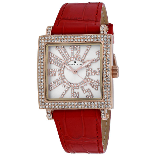 Christian Van Sant Women's Silver Dial Watch - CV0243