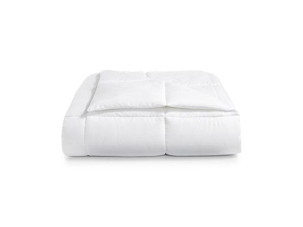 Martha Stewart Essentials Reversible Down Alternative Full/Queen Comforter, White - Product Image