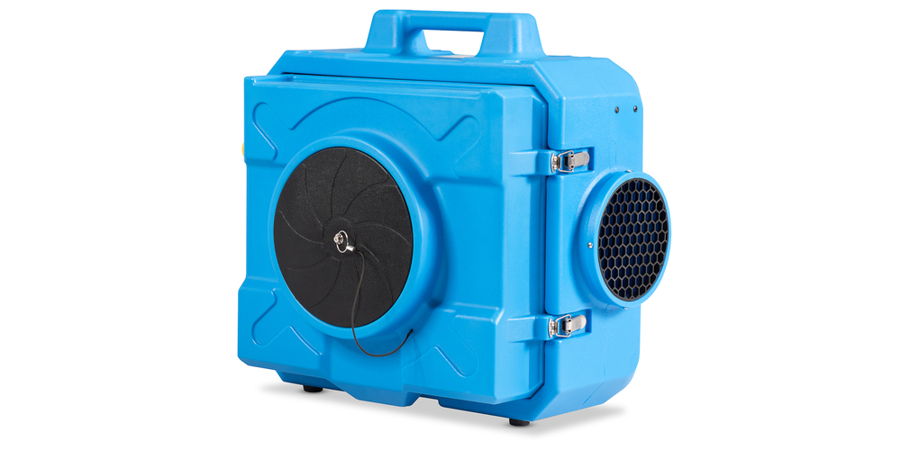 Costway Industrial Commercial Hape Air Scrubber Negative Air Purifier 500-2000sq.ft Blue, on sale for $679.99 (21% off)