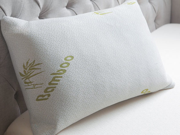 Bamboo Memory Foam Pillow (King)