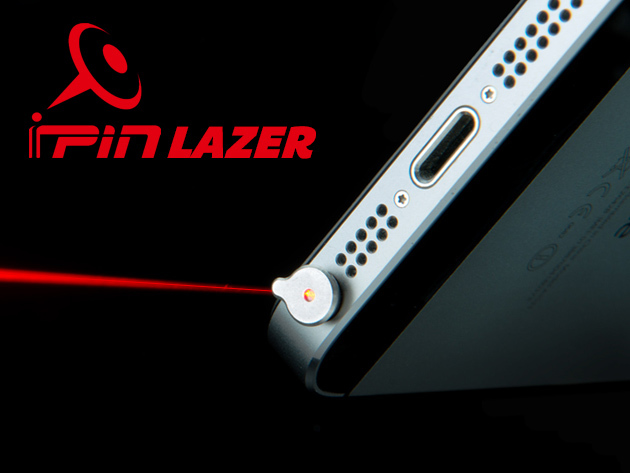 Ipin Lazer Presenter The Laser Pointer For Your Iphone