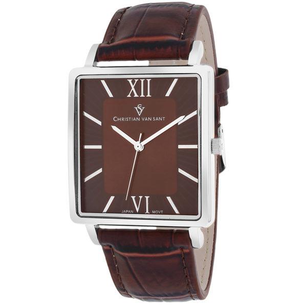 Christian Van Sant Men's Monte Cristo Brown Dial Watch - CV8511