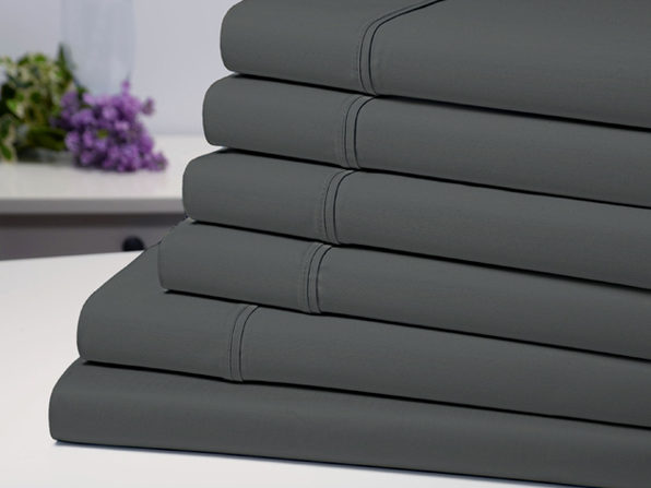 Bamboo Comfort Luxury Sheet Set (Grey/King)