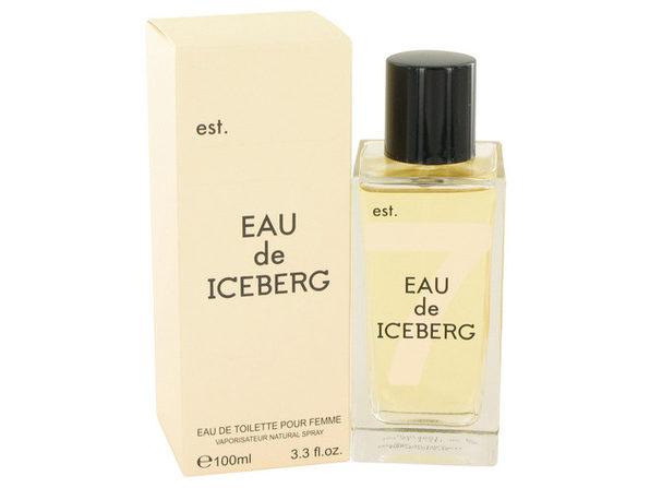 Eau De Iceberg by Iceberg Eau De Toilette Spray 3.3 oz for Women (Package of 2) - Product Image