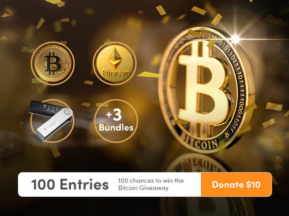 Donate $10 for 100 Entries - Product Image