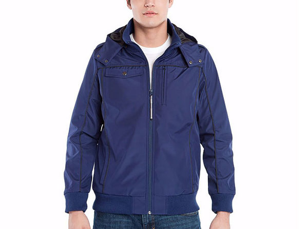 Baubax Men's Bomber Jacket Blue X-Small