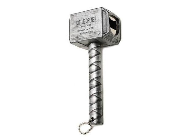 Thor Bottle Opener (Silver)