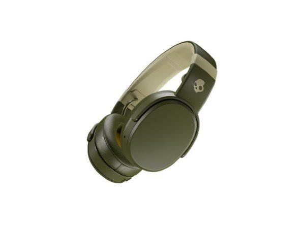 Skullcandy Crusher™ Wireless Immersive Bass Headphones (Olive)