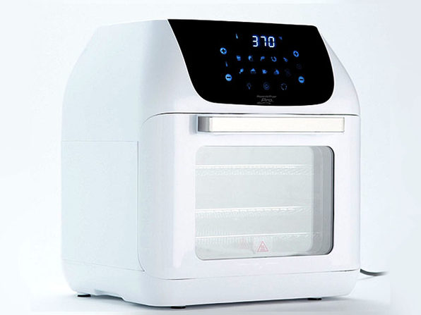 Powerxl 10 In 1 Pro Xlt 6qt Air Fryer Oven With Rotisserie White