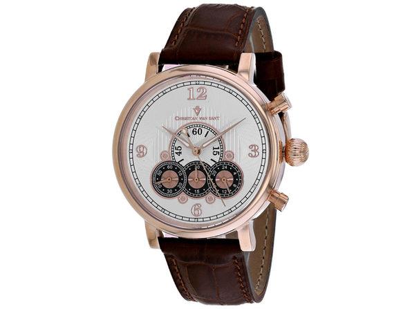 Christian Van Sant Men's Silver Dial Watch - CV0715