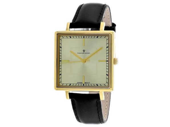 Christian Van Sant Women's Callista Gold Dial Watch - CV0413