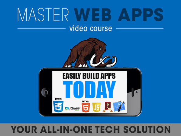 Master Web Apps Course - Product Image