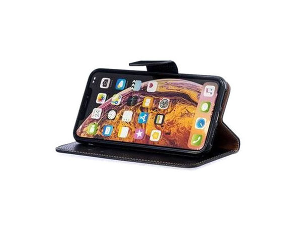iPM PU Leather Wallet Case for iPhone 11 with Kickstand