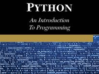 Python: An Introduction to Programming - Product Image
