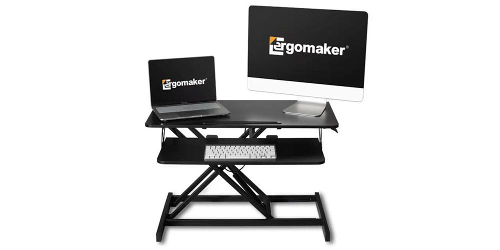 32″ Wide Adjustable Height Standing Desk Converter