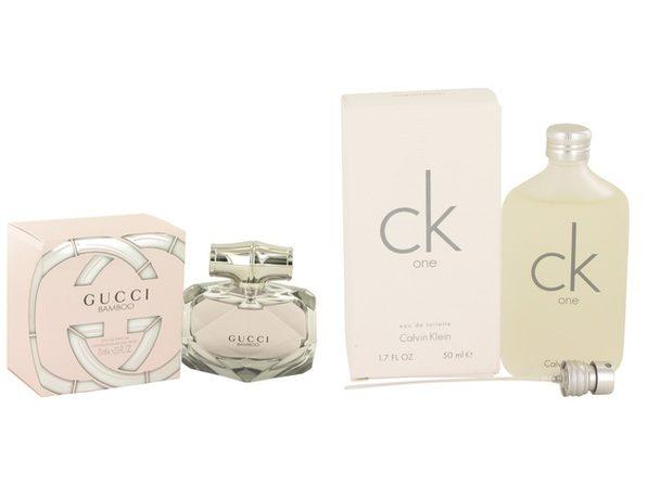 Gift set  Gucci Bamboo by Gucci Eau De Parfum Spray 2.5 oz And  CK ONE EDT Pour/Spray (Unisex) 1.7 oz - Product Image