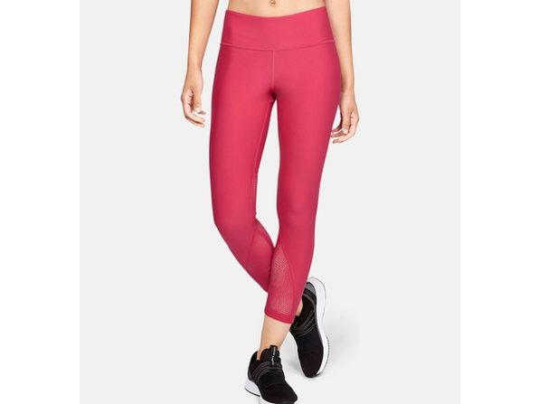 Under Armour Women's Vanish Crop Ascend Mesh Pink Size Extra Large