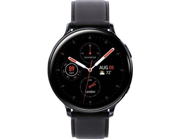 Samsung Galaxy Watch Active2 Bluetooth Smartwatch 44mm Stainless Steel - Black
