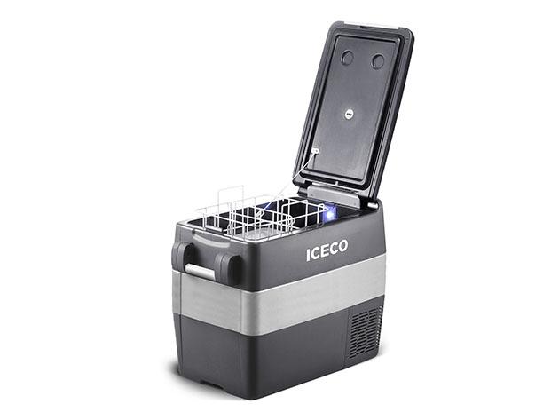 ICECO JP: 40L Portable Fridge Freezer with SECOP Compressor