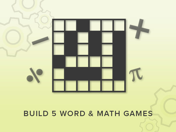 Part 1: Word & Math Games - Product Image
