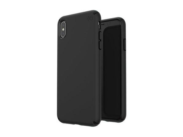 Speck Presidio Pro Designed for Impact Case for iPhone Xs Max - Black/Black