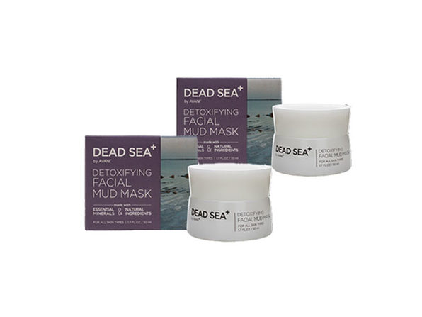 Dead Sea⁺ Detoxifying Facial Mud Mask: 2-Pack