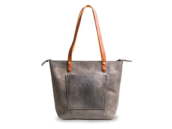 LaSalle Rustic Leather Tote (Mini/Premium)