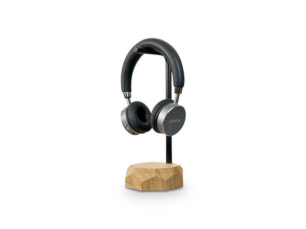 Oakywood Wooden Headphone Stand, Oak