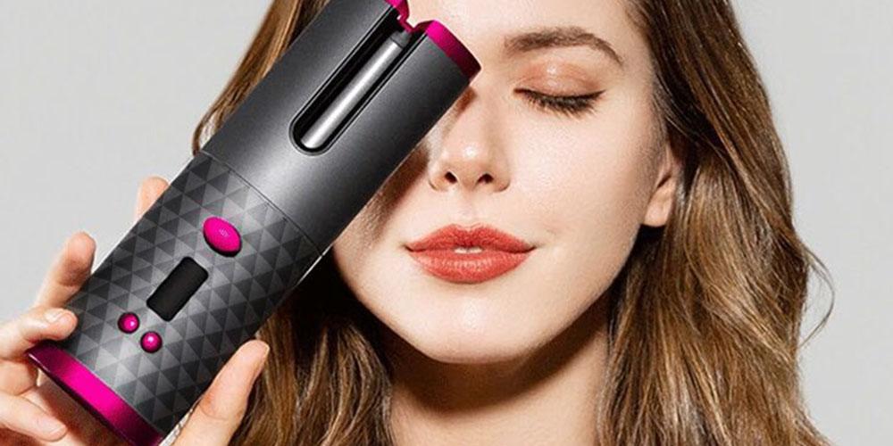 Portable Cordless Automatic Hair Curler, o