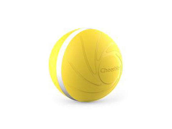 Wicked Ball: Interactive Dog Toy (Yellow)