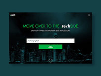 Radix '.tech' Domain: 1-Yr Subscription - Product Image