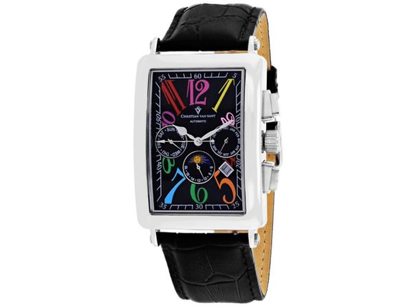 Christian Van Sant Men's Prodigy Black Dial Watch - CV9132 - Product Image