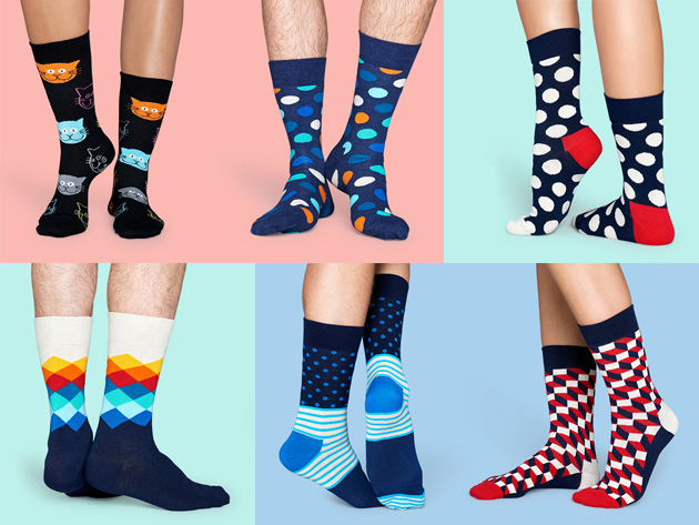 Happy Socks Pay 24 99 For 40 Of Site Wide Credit