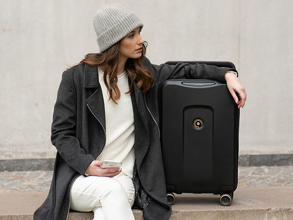 Plevo: The Runner - Smart Luggage Set
