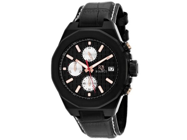Roberto Bianci Men's Fratelli Black Dial Watch - RB0132 - Product Image