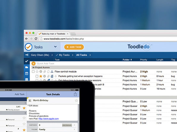Toodledo Plus Online Task Manager: 3-Yr Subscription