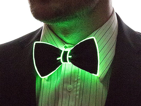 Light Up Bow Tie (Green)