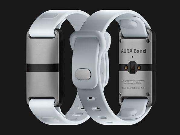 Aura Band - White Device (White Band) - Product Image