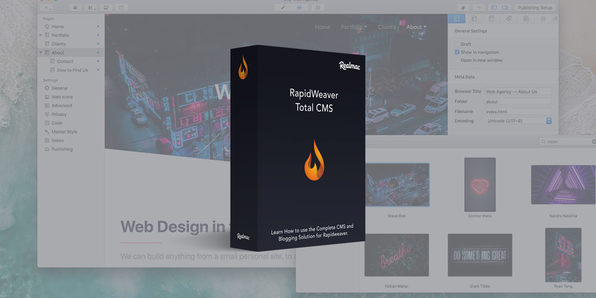 RapidWeaver Online Blogging Video Course - Product Image
