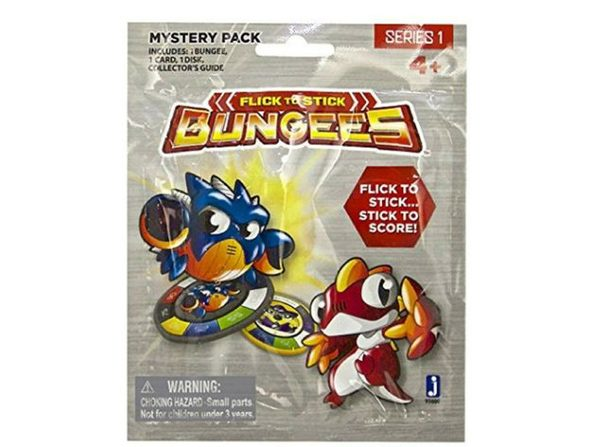Bungees Flick-to-Stick Mystery Pack