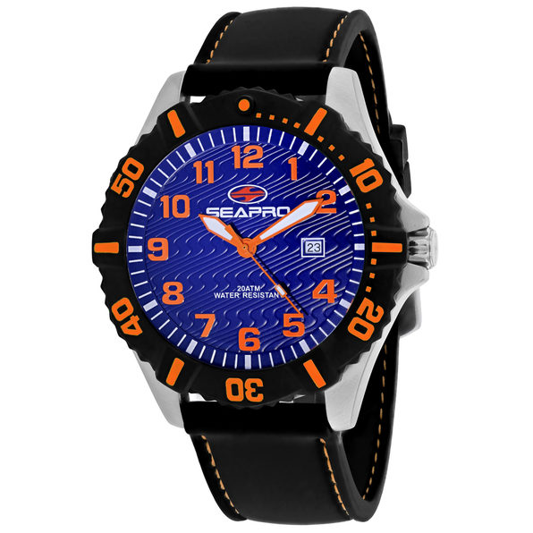 Seapro Men's Trooper Blue Dial Watch - SP1511